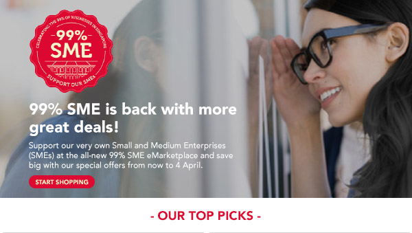 99% SME is back with more great deals!