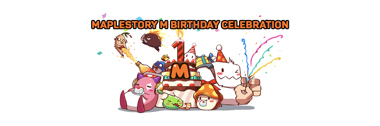 MapleStory M Birthday
