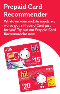Convenient Prepaid top-ups! | Singtel