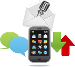 how to answer a mobile by voice
